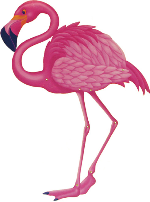 Cardstock Flamingo Jointed Cutout