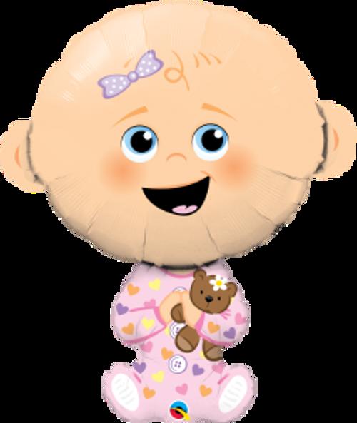 "Baby Girl 38"" Foil Balloon"