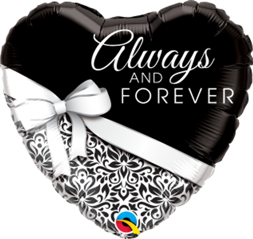 """Always And Forever 18"""" Foil Balloon"""