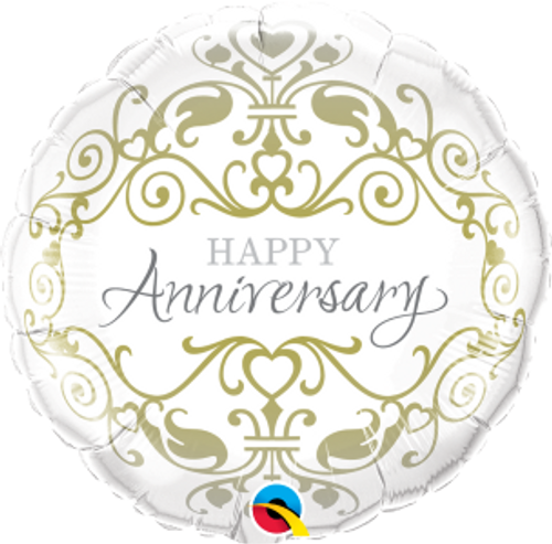 "Anniversary Classic 18"" Foil Balloon"