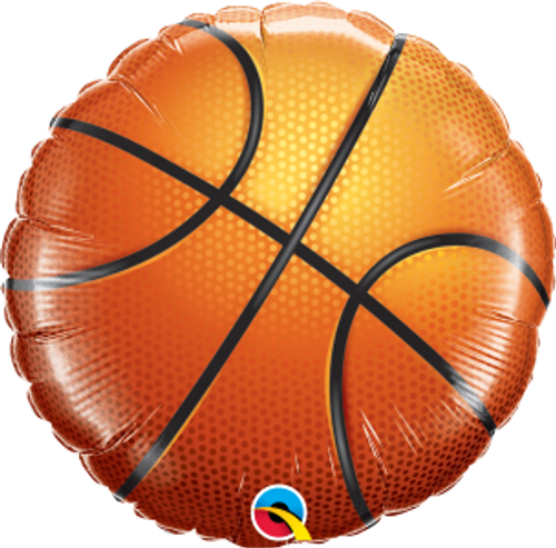 "Basketball 18"" Foil Balloon"