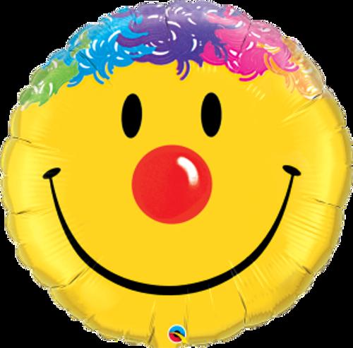 """Smile Face 36"""" Foil Balloon"""