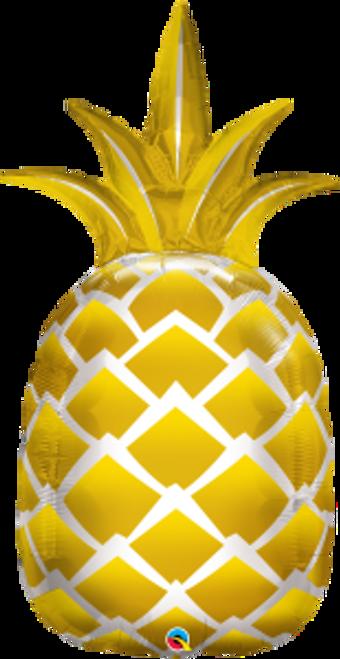 """Golden Pineapple 44"""" Foil Balloon"""