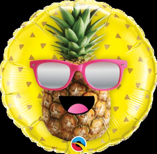 "Mr. Cool Pineapple  18"" Foil Balloon"