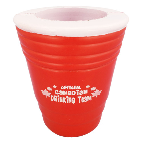 Red Cup Foam Can / Bottle Holder