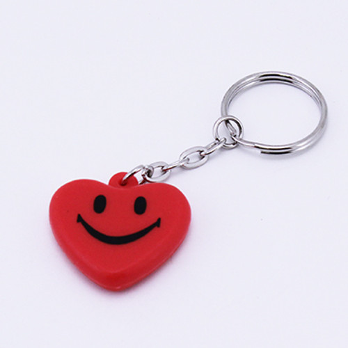 Smile Face Hearts Keychains