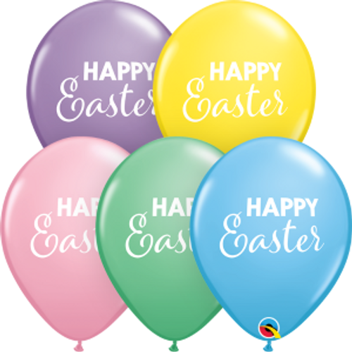 "Simply Happy Easter 11""  Latex Balloon"