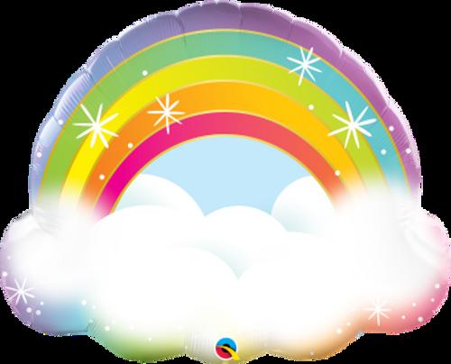 """Rainbow 32"""" Foil Balloon"""