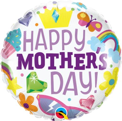 """Everything Mother's Day 18"""" Foil Balloon"""