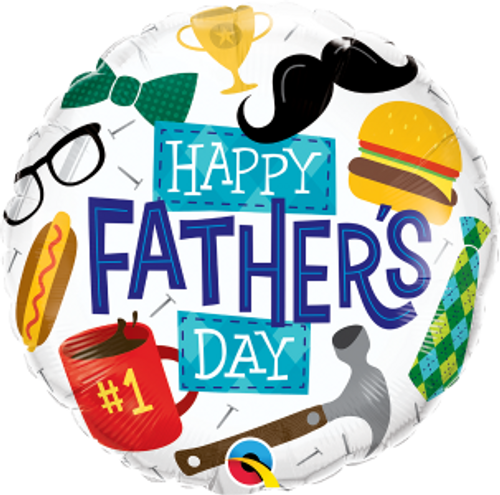 "Everything Father's Day 18"" Foil Balloon"