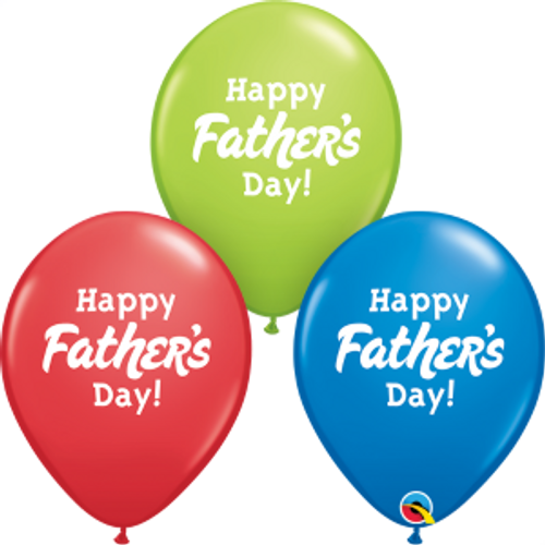 "Happy Father's Day 11""  Latex Balloon"