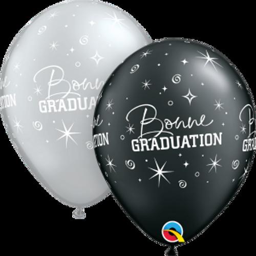 """Bonne graduation éclats  11"""" Ballon en latex"""