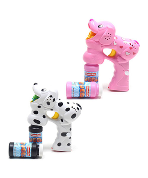 L.E.D Flashing Dog Bubble Blaster With Sound