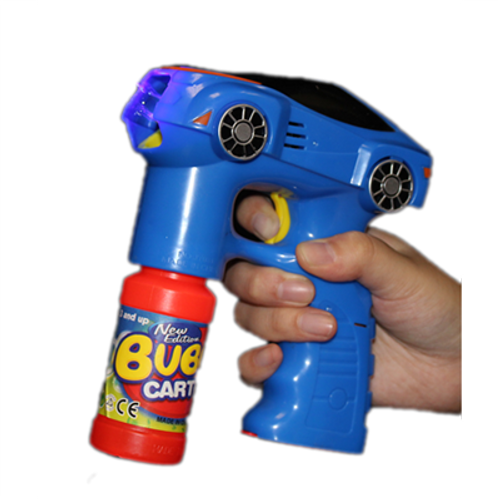 L.E.D Flashing Car Bubble Blaster With Sound