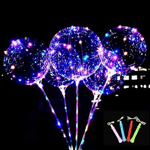 """18"""" Light Up L.E.D Balloon Wand"""