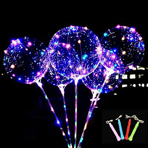 "18"" Light Up L.E.D Balloon Wand"