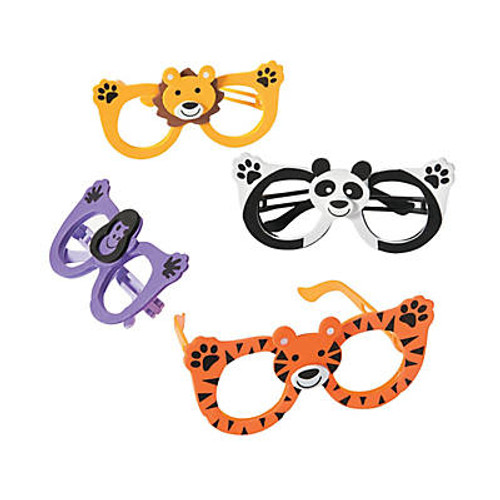 Kid's Zoo Animal Glasses Assortment