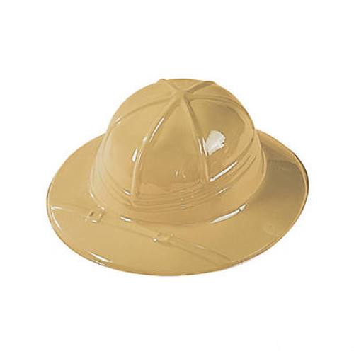 Child's Plastic Safari Hats
