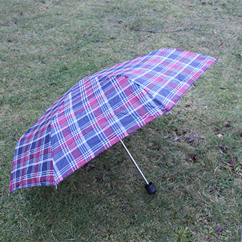 Compact Travel Folding Umbrella with Pouch