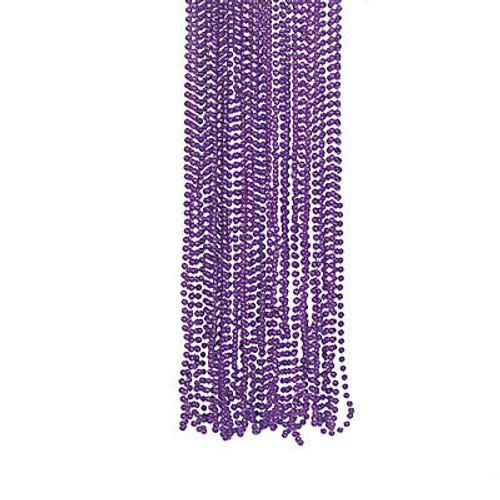 Purple Bead Necklace Bulk