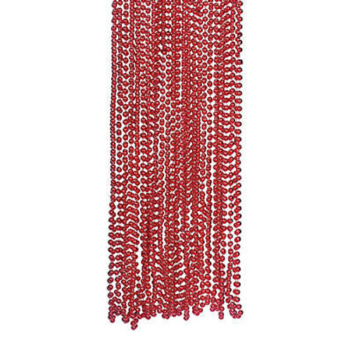 Red Bead Necklace Bulk