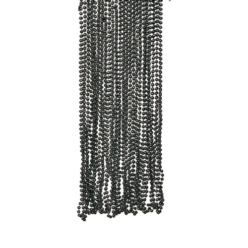 Black Bead Necklace Bulk