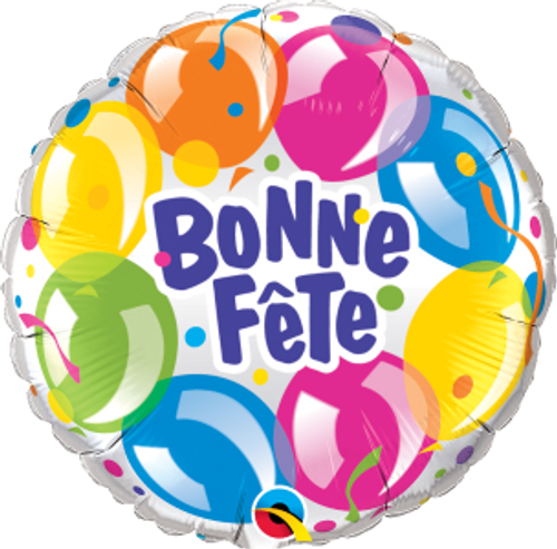 Bonne Fête - Ballons scintillants
