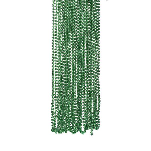 Green Bead Necklace Bulk