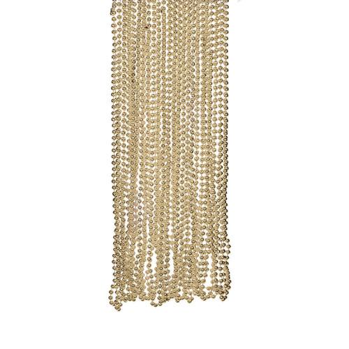 Gold Bead Necklace Bulk