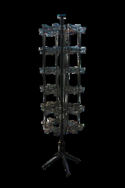 48 Peg Flip Scan Wire Rack (empty)