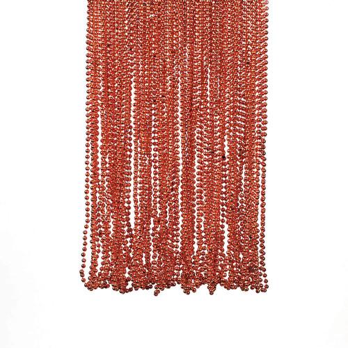 Orange Bead Necklace Bulk