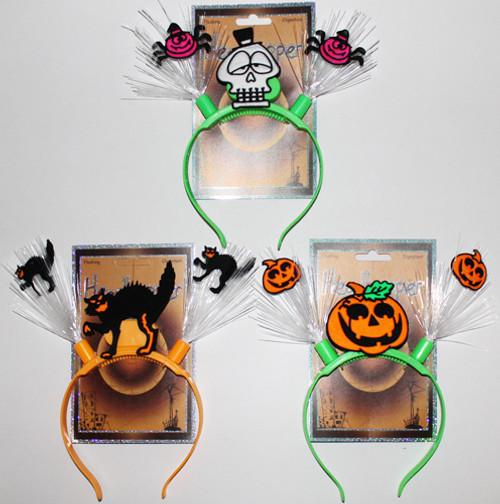 Halloween Fiber Optic Flashing Headband