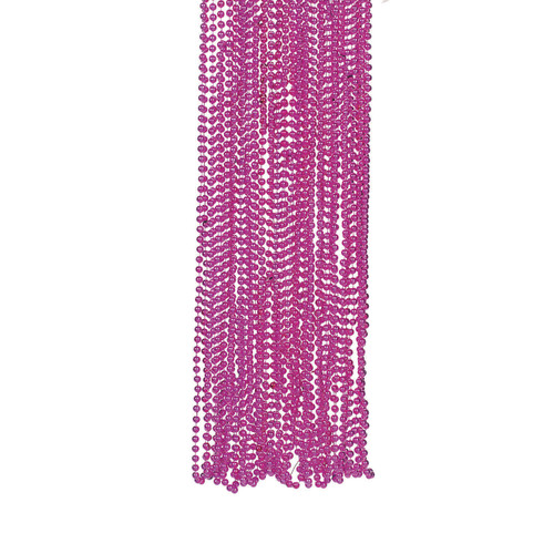 Pink Bead Necklace Bulk