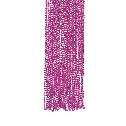Pink Bead Necklace Bulk