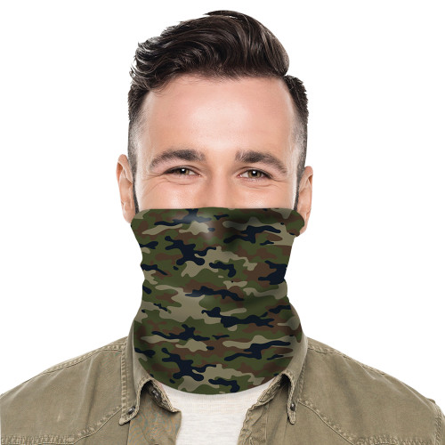 Camouflage Neck Gaiter Mask