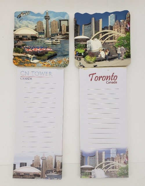 Toronto Magnetic Notepad