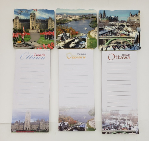 Ottawa Magnetic Notepad