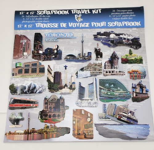 Toronto 3D Scrapbook Travel Kit