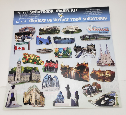 Ottawa 3D Scrapbook Travel Kit