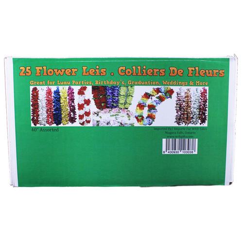 Flower Lei Box -Retail Box - 25 PK