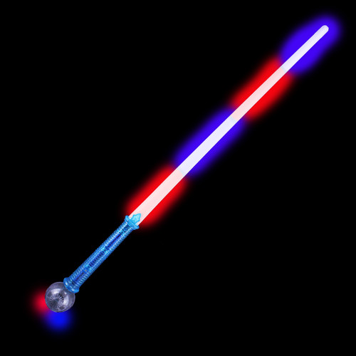 Saber Flashing Sword with Red & Blue LEDs