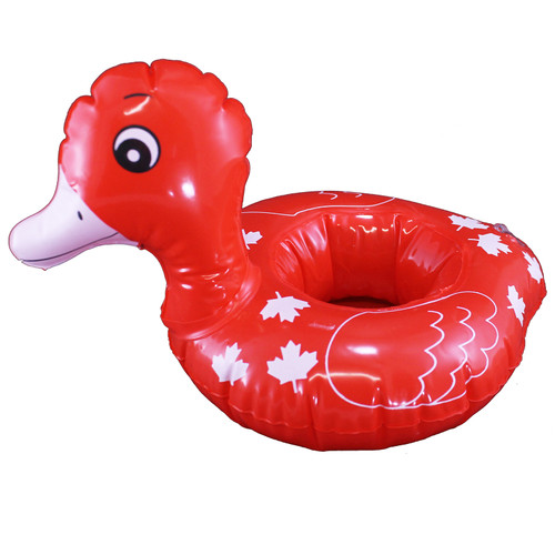 Canada Inflate Duck Can Holder