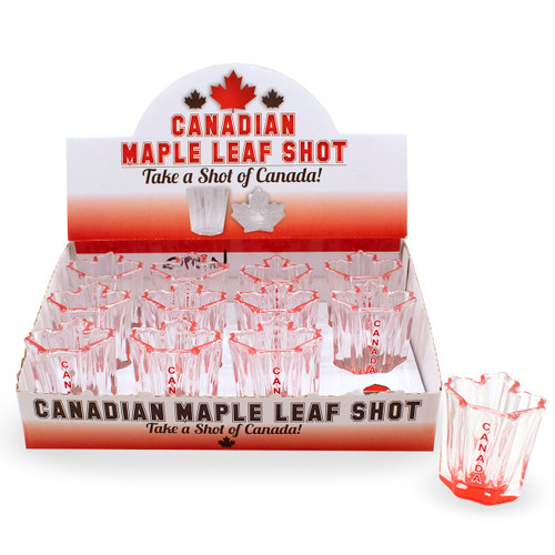 Canada Maple Leaf Shape Shot
