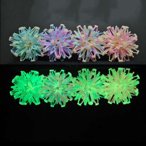 Glow In The Dark Assorted Color Expandable Ball