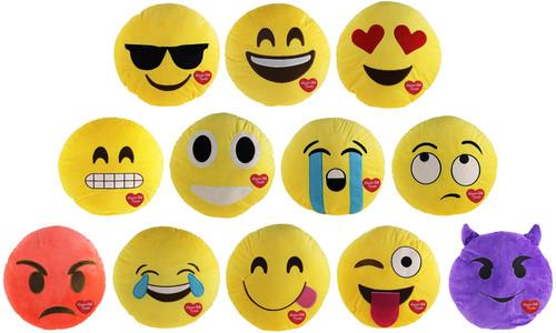 Niagara Falls Plush Emoji Pillow