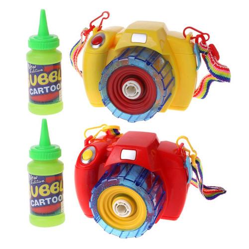 L.E.D Flashing Camera Bubble Blaster With Sound
