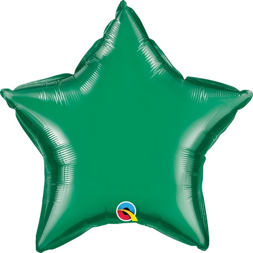 "Emerald Green Star 20"" Foil Balloon"