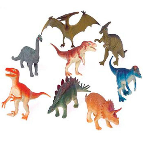 Toy Dinosaurs - 6 in.