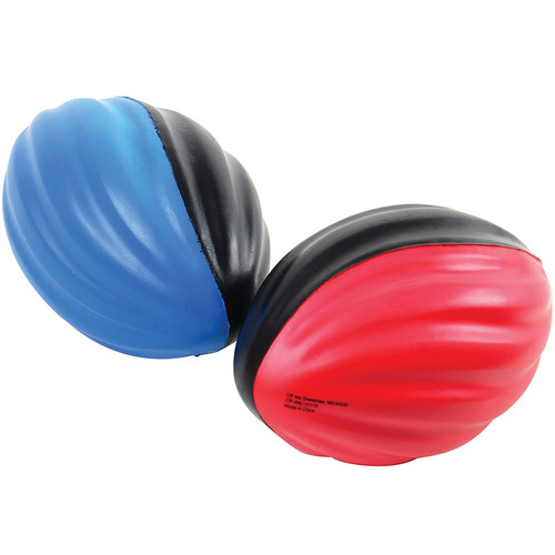 Mini Spiral Foam Footballs. Throw a long ball to win the big game with these mini foam spiral footballs. Made of a soft foam material that makes these easy to grip and great for safe play among children ages 3 and up.