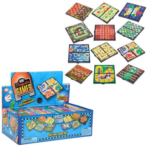 """Magnetic Games Assorted 5"""""""